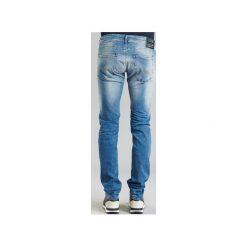 Jeansy straight leg Replay  RONAS. Niebieskie jeansy męskie marki Adidas, m. Za 527,20 zł.