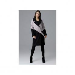 Płaszcz M626 Czarny-Beż. Czarne płaszcze damskie FIGL, m, eleganckie. Za 299,00 zł.