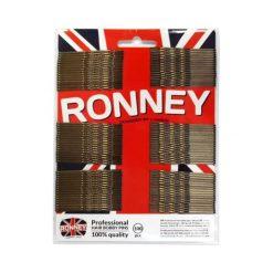 Ronney Profesjonalne wsuwki do włosów na karcie długie, brązowe 100 szt. Brązowe ozdoby do włosów Ronney. Za 5,54 zł.