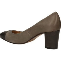 CZÓŁENKA BUT S T678-S22-0G1. Brązowe buty ślubne damskie Casu, na koturnie. Za 169,99 zł.
