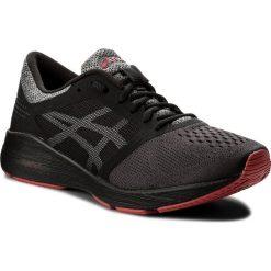 Buty ASICS - RoadHawk FF T7D2N Black/Carbon/Classic Red 9097. Czarne buty do biegania męskie Asics, z materiału. W wyprzedaży za 339,00 zł.