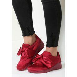 Czerwone Buty Sportowe Sound Of Silence. Czerwone buty sportowe damskie other, z materiału. Za 89,99 zł.