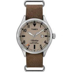 Zegarek Timex Męski  TW2P64600 Waterbury Collection brązowy. Brązowe zegarki męskie Timex. Za 259,99 zł.