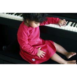 Sukienki niemowlęce: Sukienka Tintin, malinowa