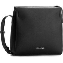 Torebka CALVIN KLEIN BLACK LABEL - M4rissa Flat Crossbody K60K602142 001. Czarne torebki klasyczne damskie marki Calvin Klein Black Label, z materiału. W wyprzedaży za 299,00 zł.