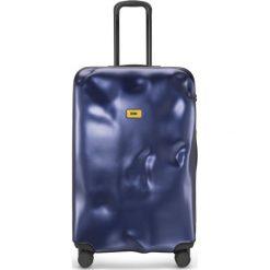 Walizka Icon duża granatowa. Szare walizki Crash Baggage, duże. Za 1120,00 zł.