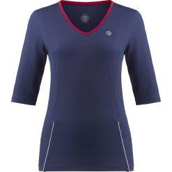 Bluzki asymetryczne: Koszulka w kolorze granatowo-czerwonym