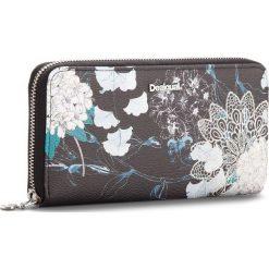 Duży Portfel Damski DESIGUAL - 18WAYP35 2000. Czarne portfele damskie marki Desigual, ze skóry ekologicznej. W wyprzedaży za 189,00 zł.