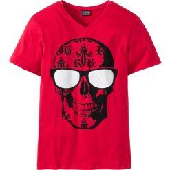 T-shirty męskie: T-shirt Slim Fit bonprix czerwony