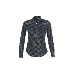 Koszule Gant  STRETCH BROADCLOTHE DOT PRINT. Czarne koszule nocne i halki GANT. Za 370,30 zł.