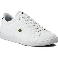 Trampki chłopięce: Sneakersy LACOSTE - Carnaby Evo Bl 1 Spj 7-33SPJ1003042 Wht/Nvy