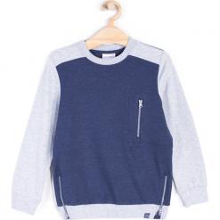 Bluza. Szare bluzy chłopięce rozpinane marki ATHLETICS, z bawełny. Za 49,90 zł.