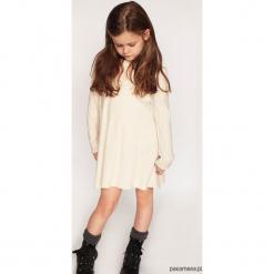 Sukienka dzianinkowa Eleventory kids Limited Emi. Szare sukienki dziewczęce z falbanami Pakamera. Za 95,00 zł.