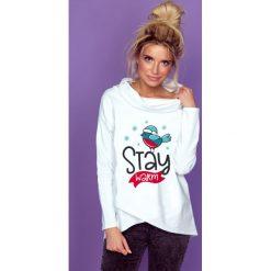 Bluza stay warm k238. Białe bluzy dziewczęce rozpinane marki FOUGANZA, z bawełny. Za 129,00 zł.