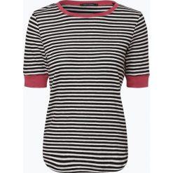 Marc O'Polo - T-shirt damski, czarny. Czarne t-shirty damskie Marc O'Polo, m, w paski, polo. Za 269,95 zł.
