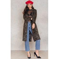 NA-KD Trend Wzorzysty płaszcz - Multicolor. Niebieskie płaszcze damskie wełniane marki Reserved. Za 364,95 zł.