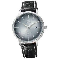 Zegarek Q&Q Męski Klasyczny QZ06-312 z datownikiem szary. Szare zegarki męskie Q&Q. Za 147,99 zł.
