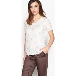 T-shirty damskie: Wzorzysty t-shirt z krótkim rękawem