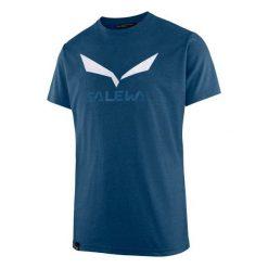 T-shirty męskie: Salewa Koszulka męska Solidlogo Poseidon Melange r. XL (27018-8968)