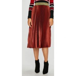Silvian Heach - Spódnica. Szare spódnice wieczorowe Silvian Heach, l, z elastanu, z standardowym stanem, midi, plisowane. Za 419,90 zł.