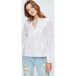 Answear - Bluzka Wild Nature. Szare bluzki nietoperze ANSWEAR, l, z bawełny, casualowe. W wyprzedaży za 79,90 zł.