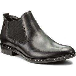Sztyblety CARINII - B4192 E50-000-PSK-C63. Czarne buty zimowe damskie Carinii, z materiału. W wyprzedaży za 219,00 zł.