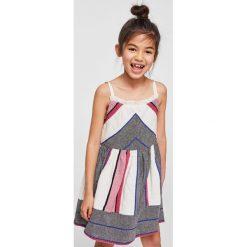 Sukienki dziewczęce na ramiączkach: Mango Kids – Sukienka dziecięca Chaya 110-152 cm