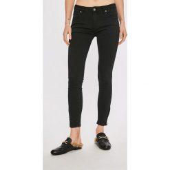 Answear - Jeansy. Szare jeansy damskie rurki marki G-Star RAW, z obniżonym stanem. Za 119,90 zł.