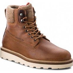 Kozaki GANT - Don 17643901 Cognac G45. Brązowe buty zimowe męskie marki GANT, z materiału. Za 739,90 zł.