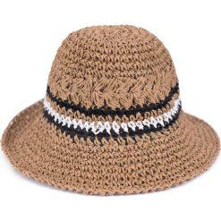 Kapelusz damski Practical you brązowy. Brązowe kapelusze damskie marki Art of Polo. Za 39,22 zł.