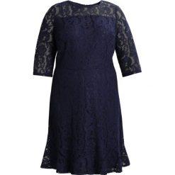 Sukienki hiszpanki: Dorothy Perkins Curve FLUTE HEM AND SLEEVE Sukienka koktajlowa navy