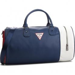 Torebka GUESS - TM6589 POL91  BLM. Niebieskie torebki klasyczne damskie marki Guess, z aplikacjami, ze skóry ekologicznej. Za 469,00 zł.