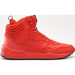 Buty sportowe męskie: Sportowe buty za kostkę – Czerwony
