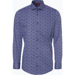 Finshley & Harding London - Koszula męska, niebieski. Czarne koszule męskie marki BIG STAR, z gumy. Za 149,95 zł.