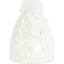 Czapka damska Ciepłe warkocze biała (cz13128). Białe czapki zimowe damskie Art of Polo. Za 32,73 zł.