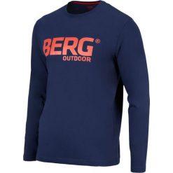 Koszulki sportowe męskie: BERG OUTDOOR Koszulka OKMOK LS T-SHIRT granatowo-czerwona r. XXL (P-10-EL4310800SS14-200-XXL)