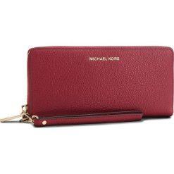 Duży Portfel Damski MICHAEL MICHAEL KORS - Money Pieces 32F6GM9E9L Maroon. Czerwone portfele damskie MICHAEL Michael Kors, ze skóry. Za 699,00 zł.