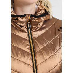 CMP WOMAN FIX HOOD Kurtka narciarska gold. Czerwone kurtki damskie narciarskie marki CMP, z materiału. W wyprzedaży za 494,25 zł.
