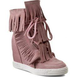 Buty zimowe damskie: Sneakersy R.POLAŃSKI - 0818 Różowy