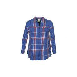 Koszule Levis  WRAP SHIRT. Brązowe koszule nocne i halki marki Levi's®, z obniżonym stanem. Za 263,20 zł.
