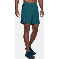 Spodenki sportowe męskie: Under Armour Spodenki męskie Speedpocket Swft 7'' Short zielone r. L (1305210-716)