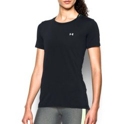 Topy sportowe damskie: Under Armour Koszulka damska Armour Short Sleeve Under Armour Black roz. M (1285637001)