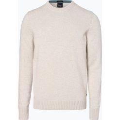 BOSS Casual - Sweter męski – Amitrovo, czarny. Czarne swetry klasyczne męskie BOSS Casual, l, z dzianiny. Za 379,95 zł.