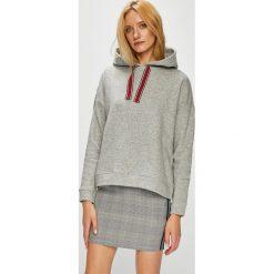 Jacqueline de Yong - Bluza. Szare bluzy z kapturem damskie marki Jacqueline de Yong, l, z bawełny. Za 119,90 zł.