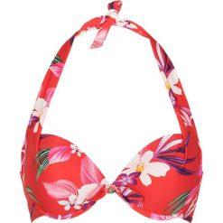 """Biustonosze bardotka: Biustonosz bikini """"Japanese Flower"""" w kolorze czerwonym"""