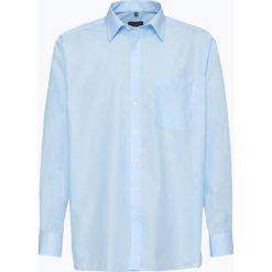 Eterna Comfort Fit - Koszula męska – niewymagająca prasowania, niebieski. Niebieskie koszule męskie non-iron Eterna Comfort Fit, m, z bawełny, z klasycznym kołnierzykiem, z długim rękawem. Za 199,95 zł.