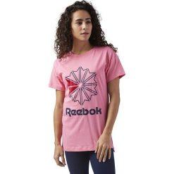 Koszulka Reebok Classics Graphic (CY7881). Szare bralety marki Reebok, l, z dzianiny, casualowe, z okrągłym kołnierzem. Za 64,99 zł.
