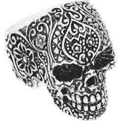 Sygnety męskie: Wildcat Skull Tattoo Pierścień standard