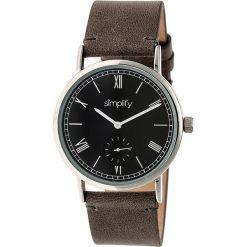 """Zegarki męskie: Zegarek kwarcowy """"the 5100"""" w kolorze szaro-srebrno-czarnym"""