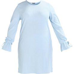Sukienki hiszpanki: Missguided Plus Sukienka letnia light blue